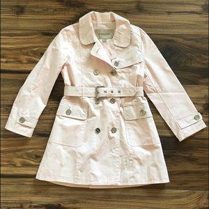 BURBERRY Trench Coat Rain Coat Girls